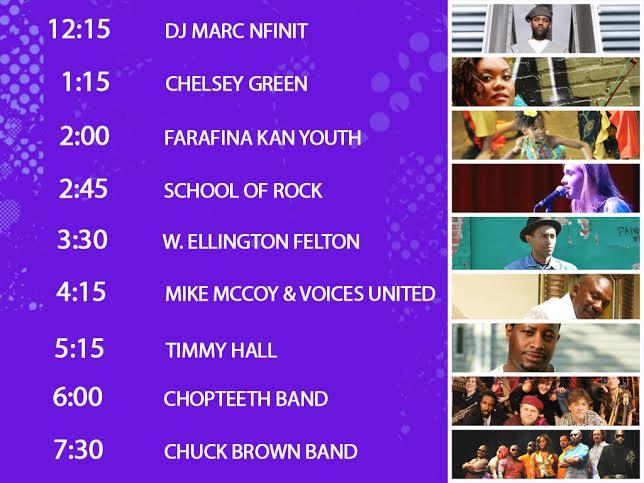 DCTV artist times