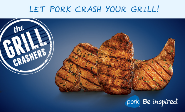 "The National Pork Board ""Grill Crashers"" contest"