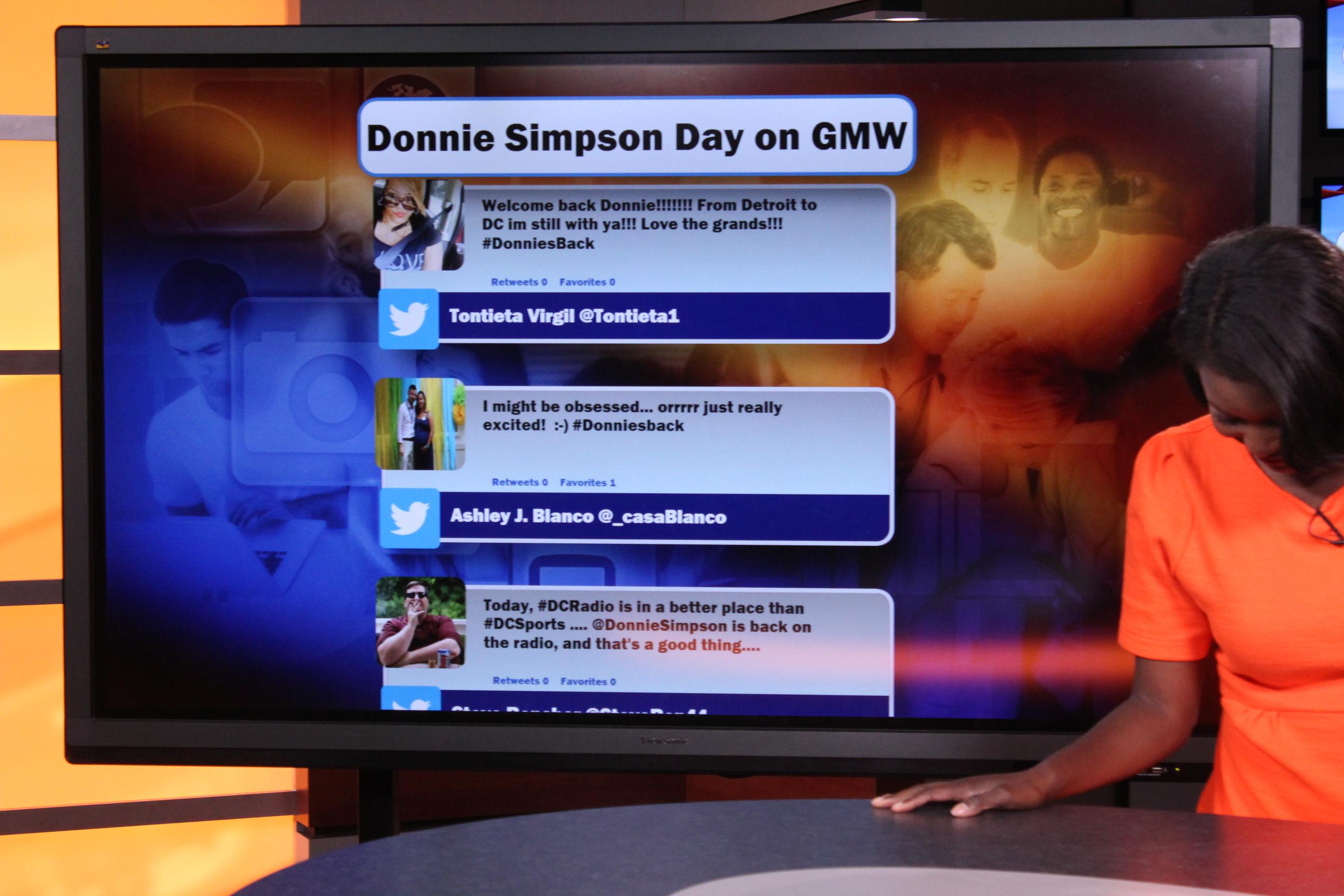 Donnie Simpson Good Morning Washington