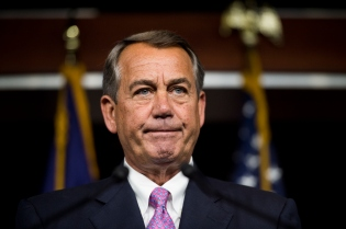 Speaker of the House John Boehner...