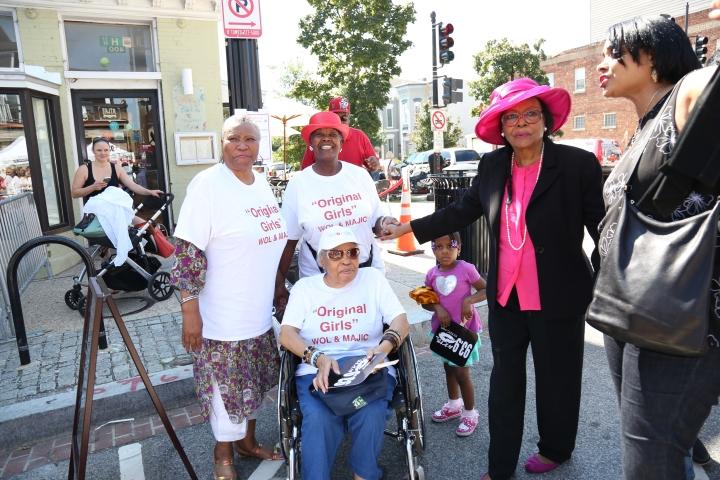 4th & H Street In Washington D.C. Renamed Cathy Hughes Corner