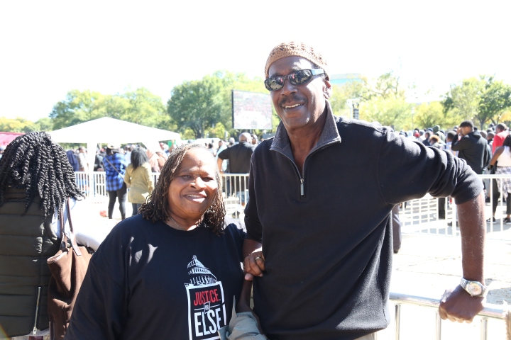 The Million Man March 2015 # JusticeOrElse