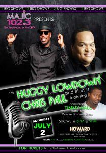 Huggy Lowdown & Chris Paul Comedy Show