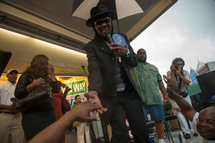 Chuck Brown Way is the name of the street named after the Godfather of Go Go Music, Chuck Brown.