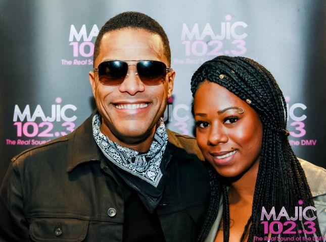 Maxwell & Mary J. Blige Meet & Greet
