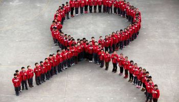 Primary School Students Learnt the Basic Knowledge of AIDS