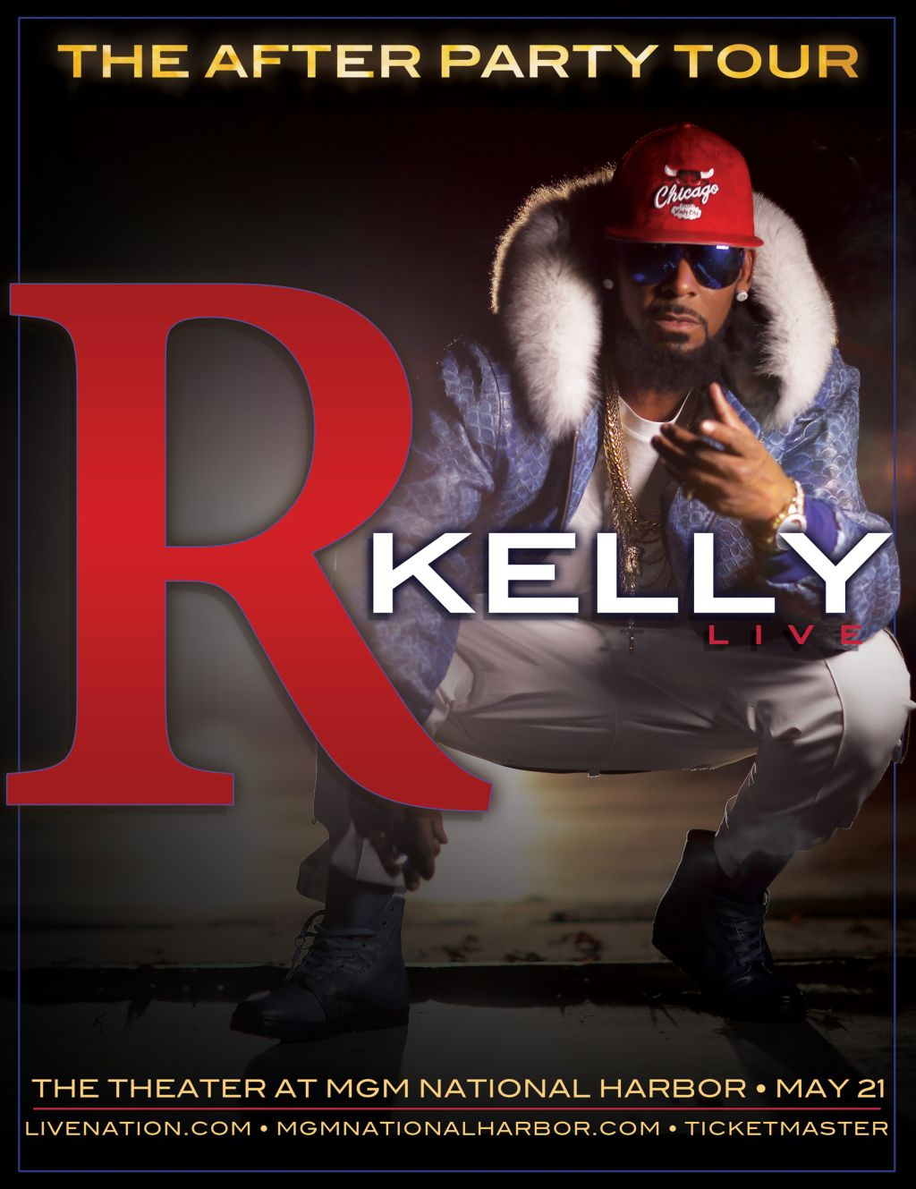 R. Kelly Live At The MGM National Harbor