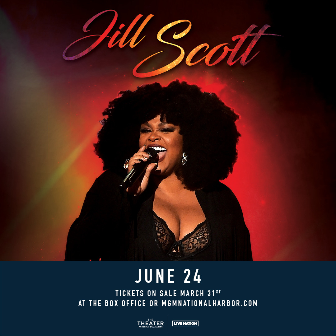 Jill Scott Live At The MGM National Harbor
