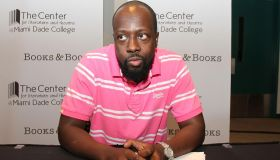 Wyclef Jean Book Signing and Performance