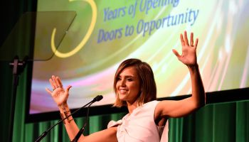 Jessica Alba at The Independent School Alliance For Minority Affairs Impact