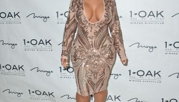 Blac Chyna Hosts Night Out At 1 OAK Nightclub At The Mirage