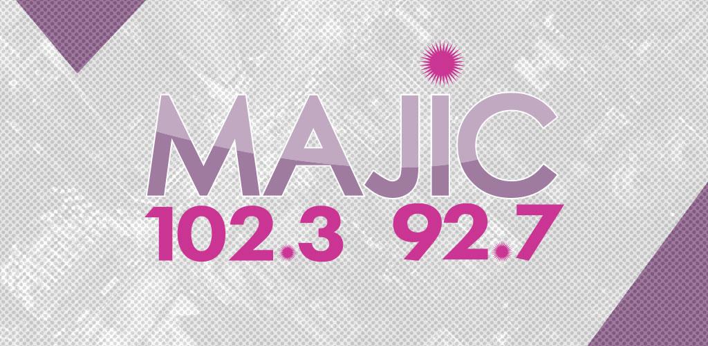 Majic 102.3/92.7 Logo