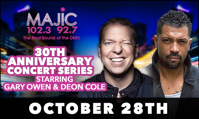 Majic 30 With Deon Cole and Gary Owen