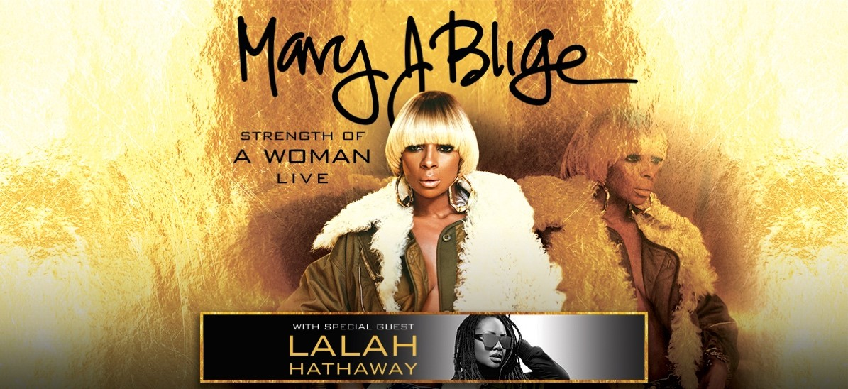 Mary J. Blige w/ Lalah Hathaway Flyer