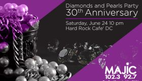 Majic Diamonds and Pearls Party 30th Anniversary Party