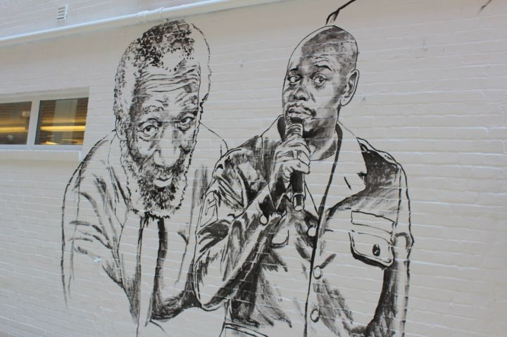 Stars Shine On Ben's Chili Bowl Mural