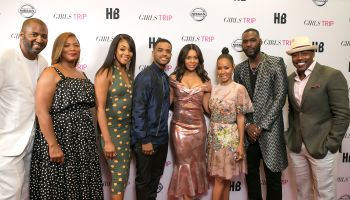Malcom Lee, Queen Latifah, Tiffany Haddish, Larenz Tate, Regina Hall, Jada Pinkett Smith, Kofi Siriboe, and Will Packer