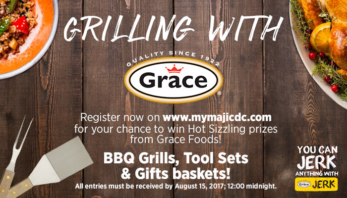 Grilling With Grace Sweepstakes