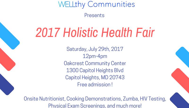 2017 Holistic Health Fair