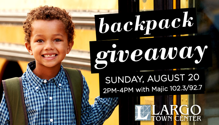 Largo Town Center Back To School
