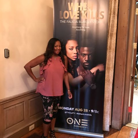 """Asia & Teresa Marie At The TV One/Radio One D.C. """"When Love Kills: The Falicia Blakely Story"""""""