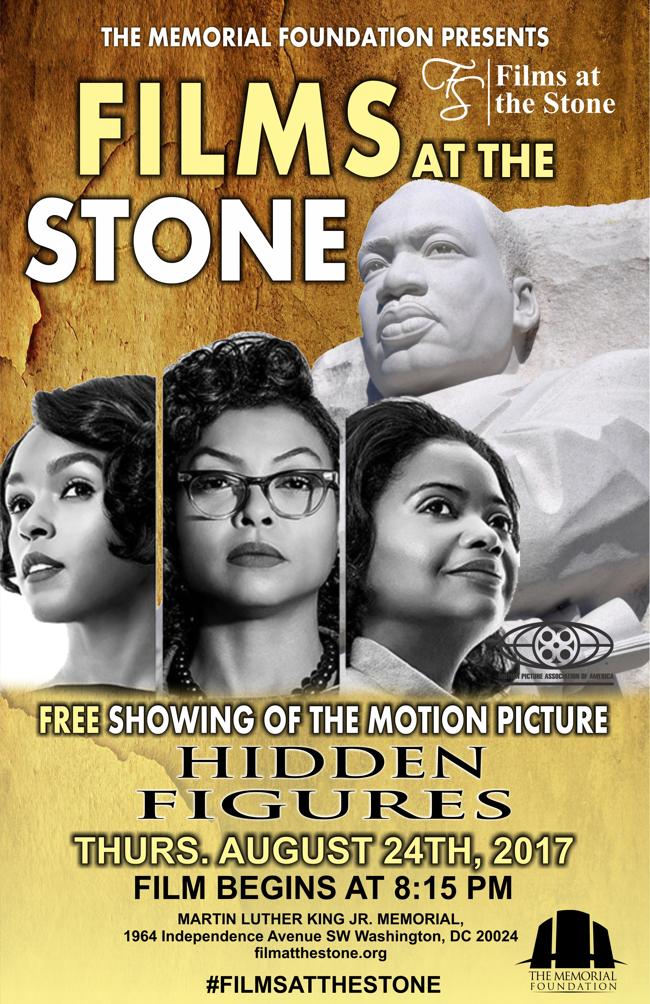 Hidden Figures At The MLK Memorial