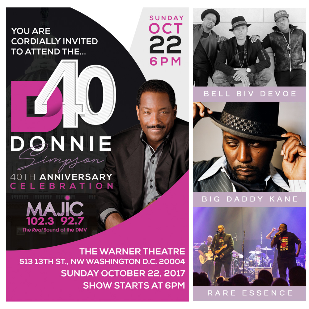 Donnie Simpson 40 Performers