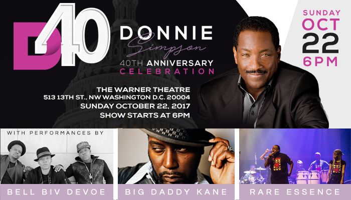 Bell Biv DeVoe, Rare Essence, Big Daddy Kane Donnie Simpson Concert
