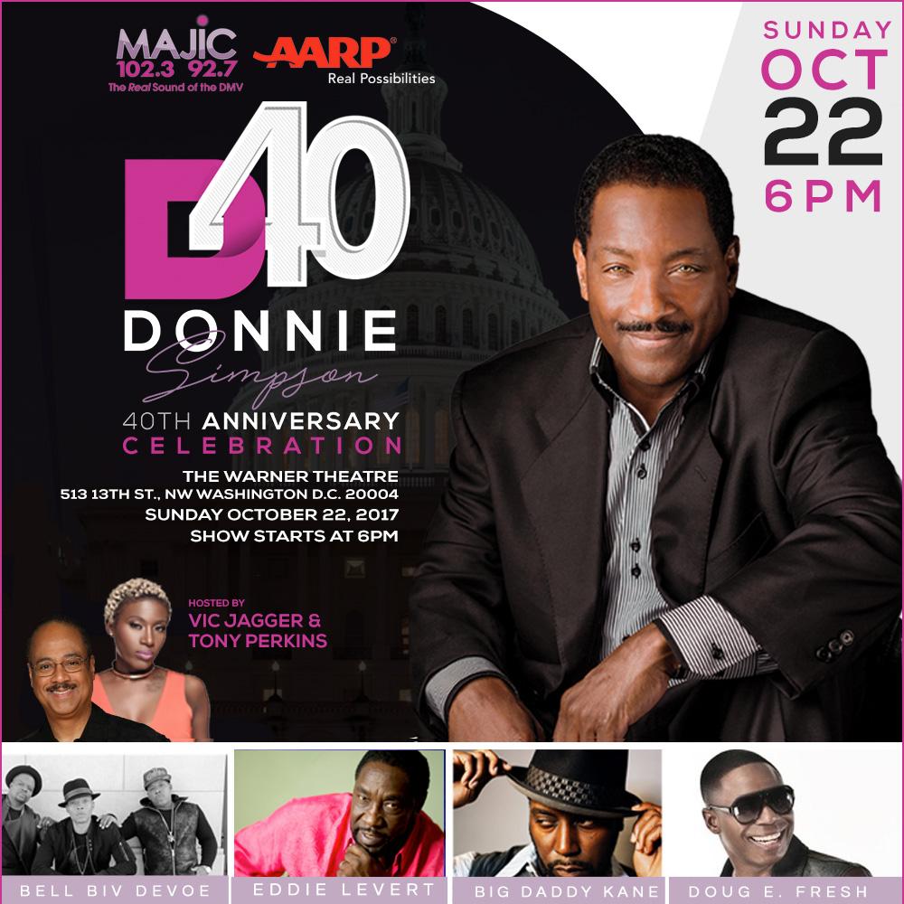 Donnie 40 Graphic