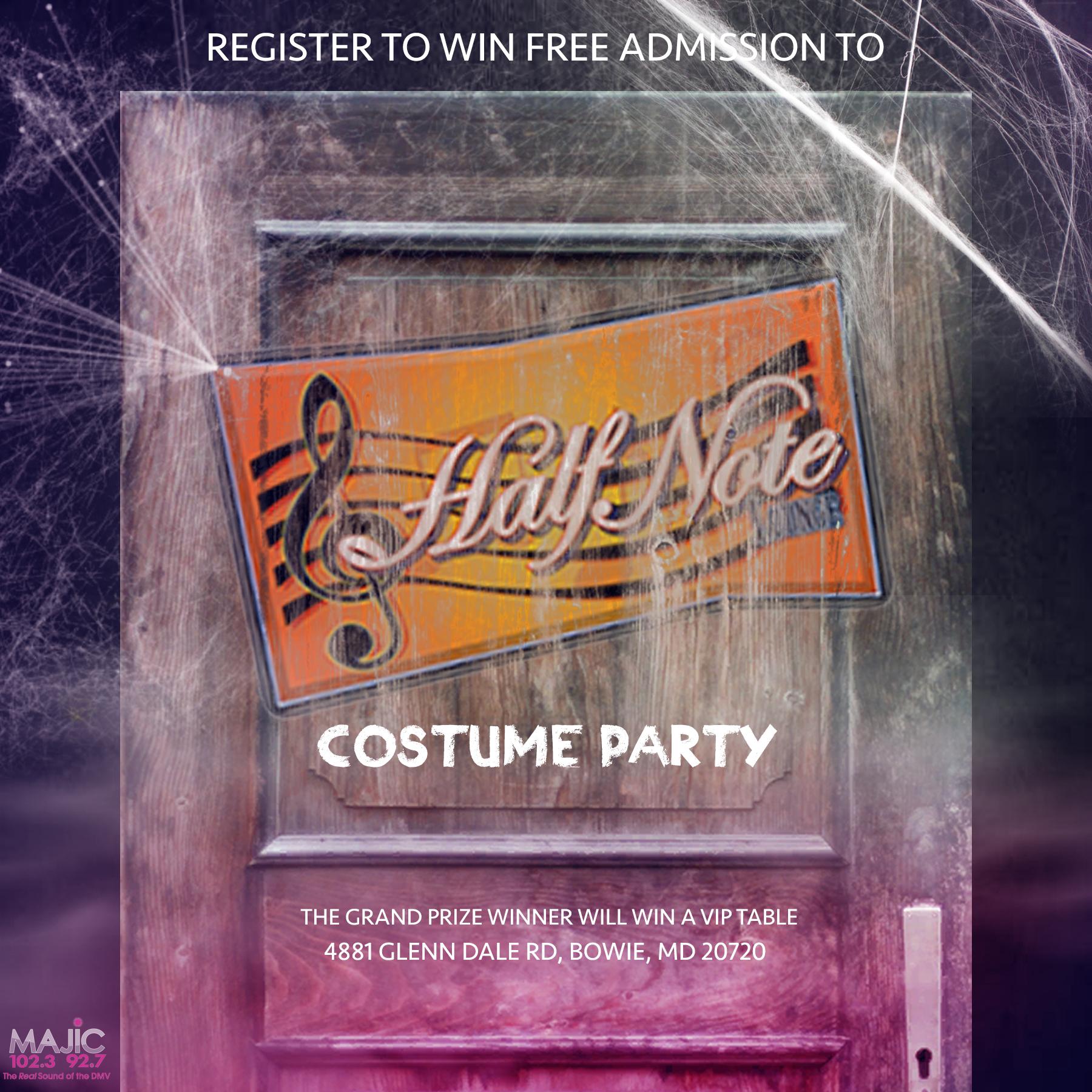 Half-Note's Halloween Party