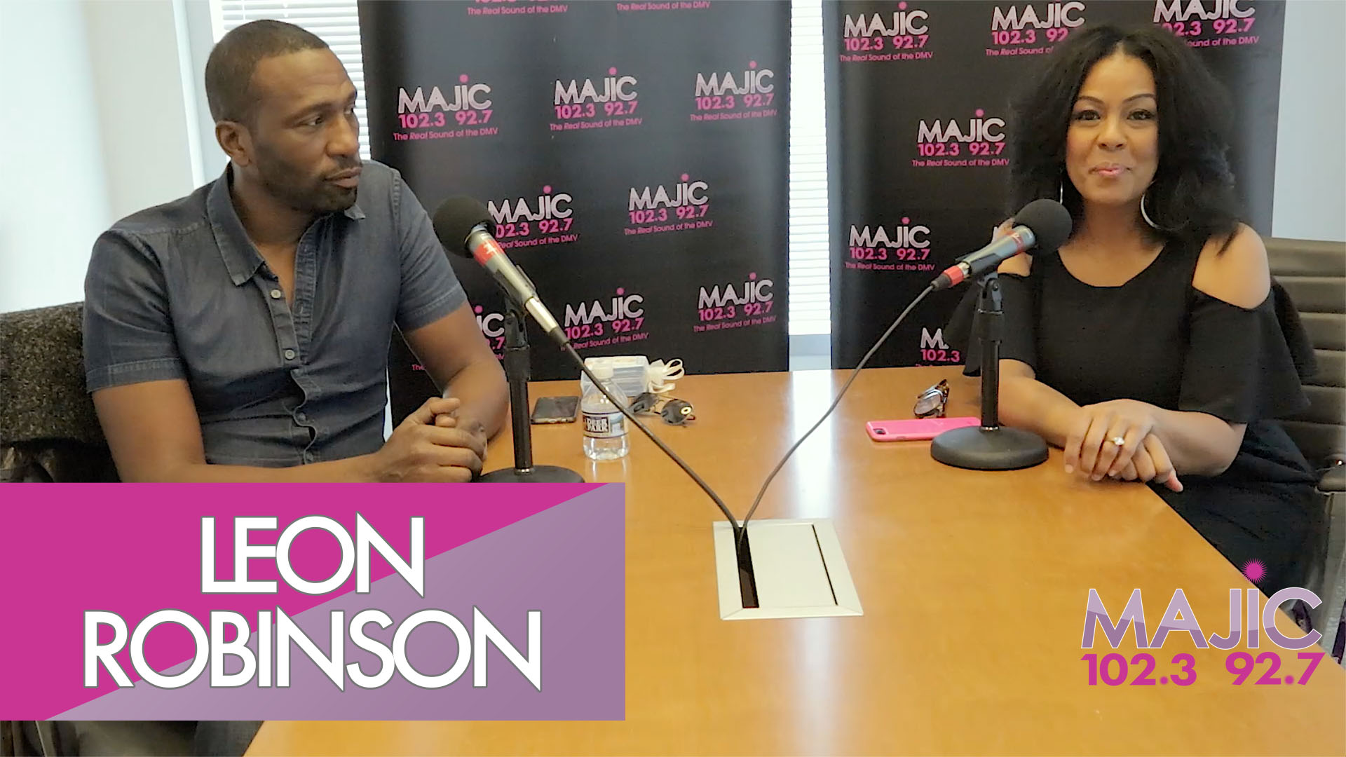 Mixed Company With Madelyne Woods & Guest Leon Robinson