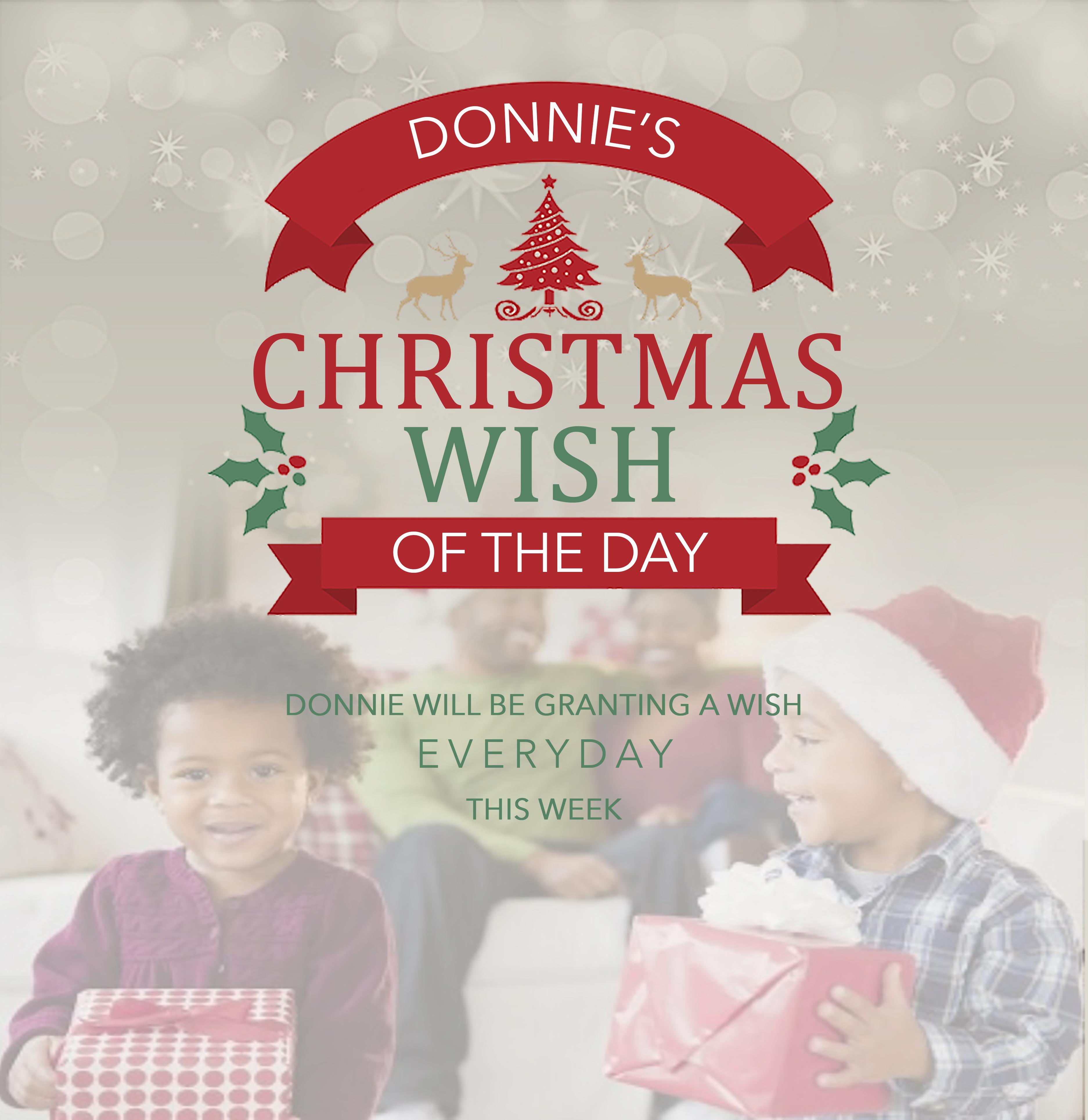 Donnie's Christmas Wish