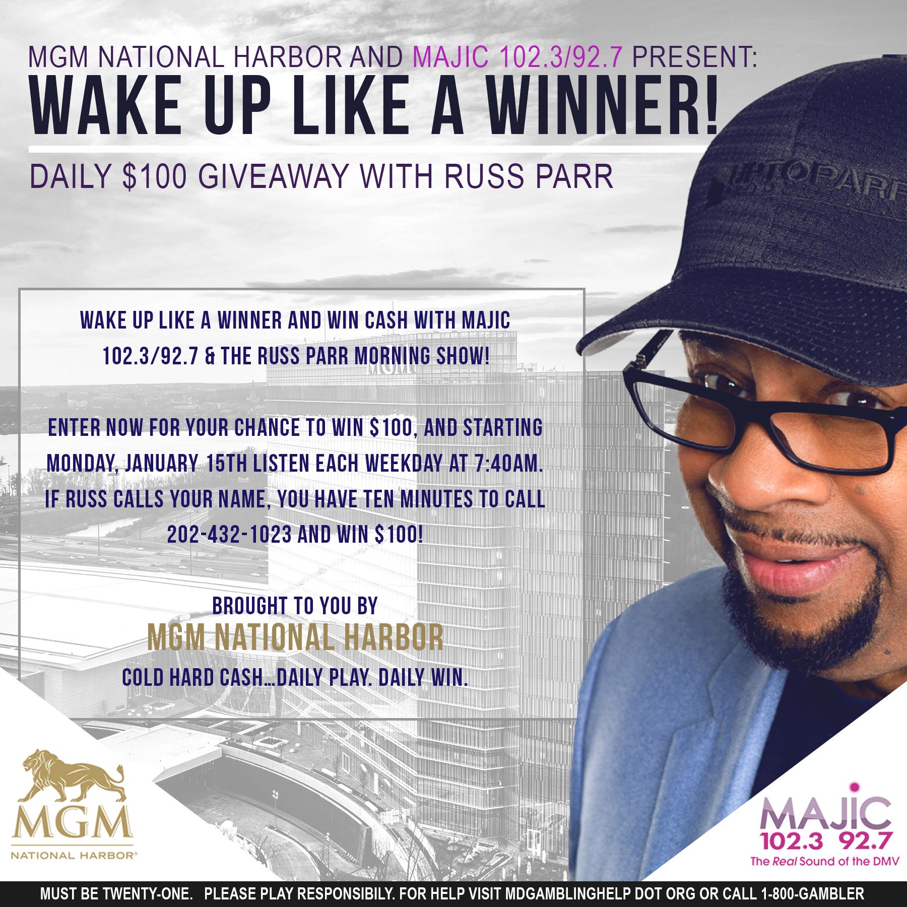 Wake Up Like A Winner