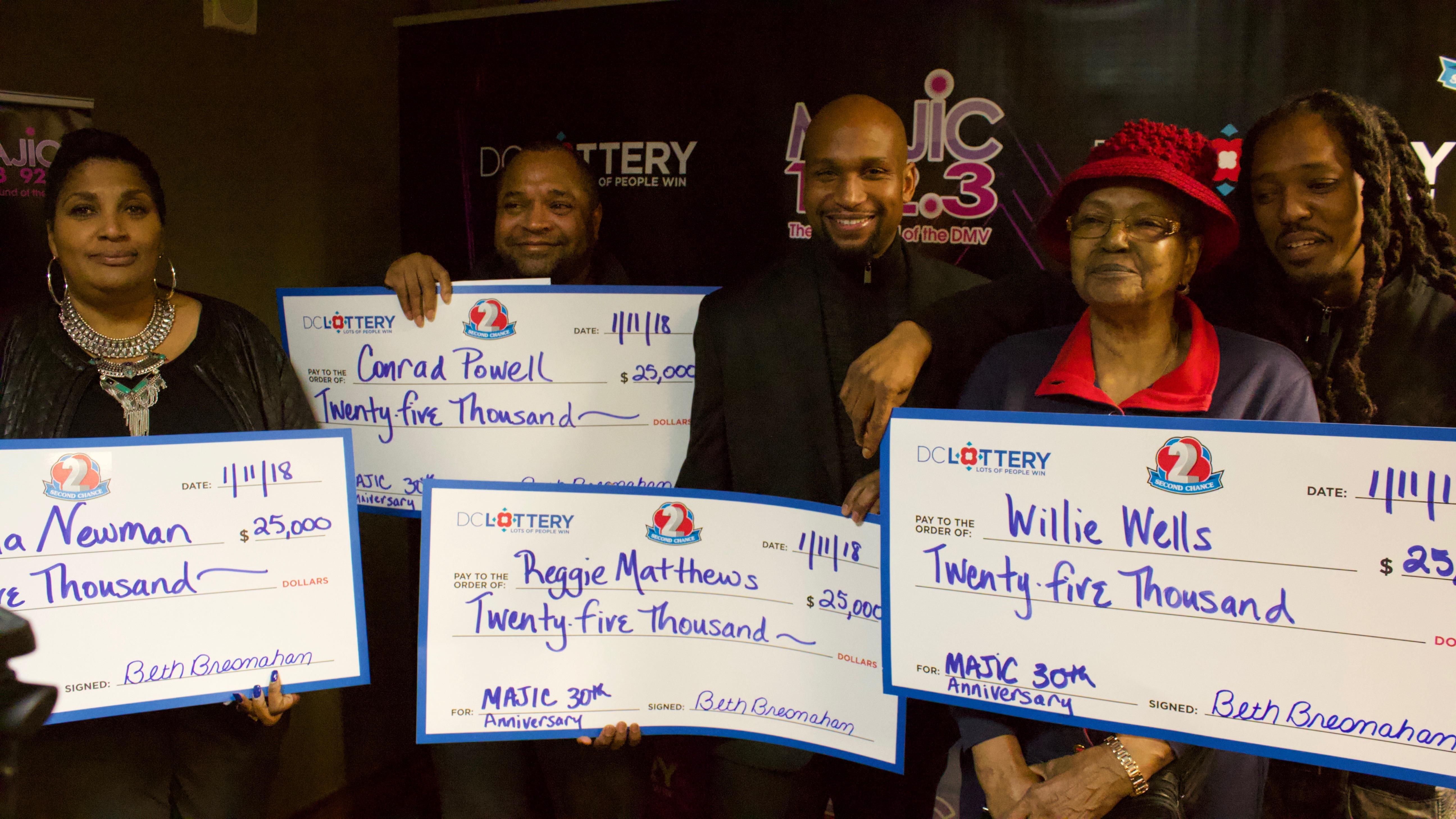 Majic D.C/D.C. Lottery