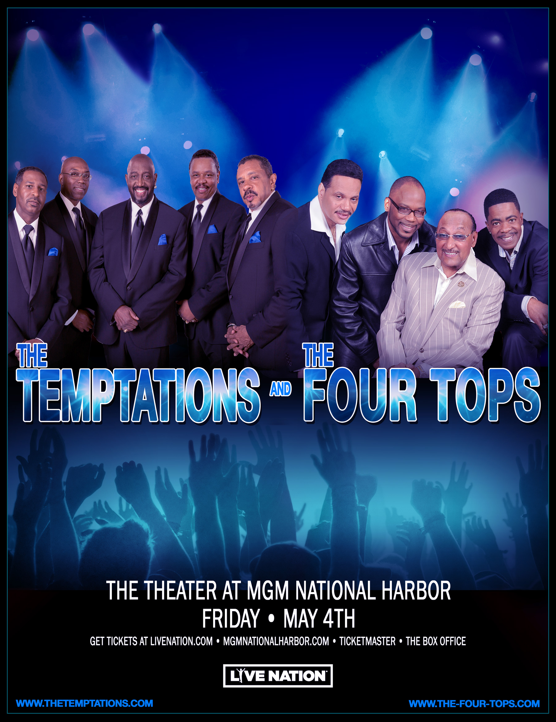 Four Tops & Temptations