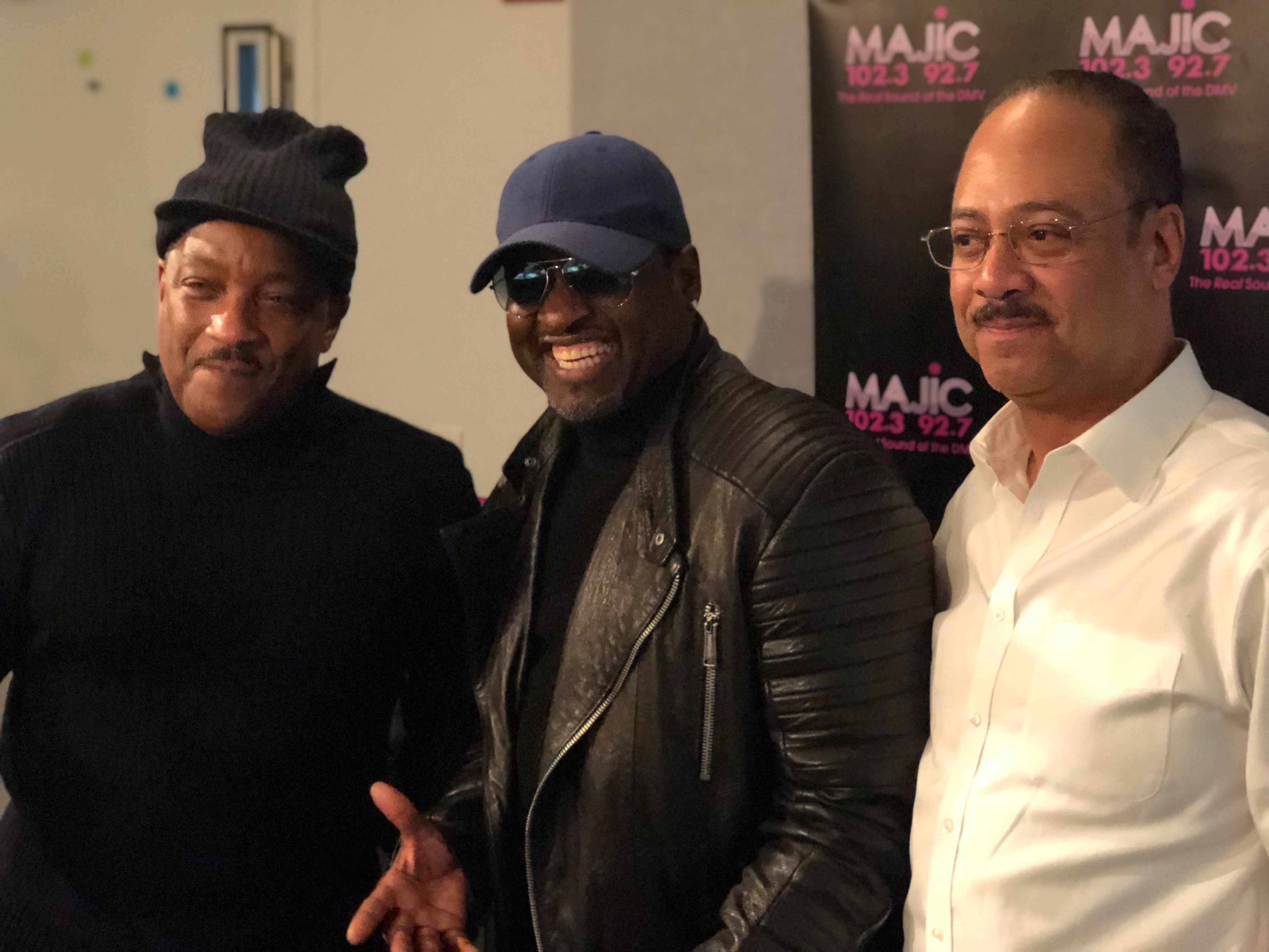 Johnny Gill With Donnie Simpson & Tony Perkins