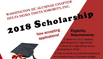 Washington DC Alumnae Chapter Delta Sigma Theta Sorority, Inc.
