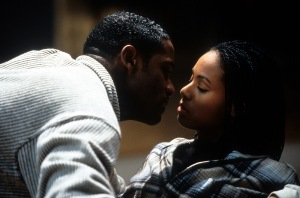 Blair Underwood And Jada Pinkett In 'Set It Off'