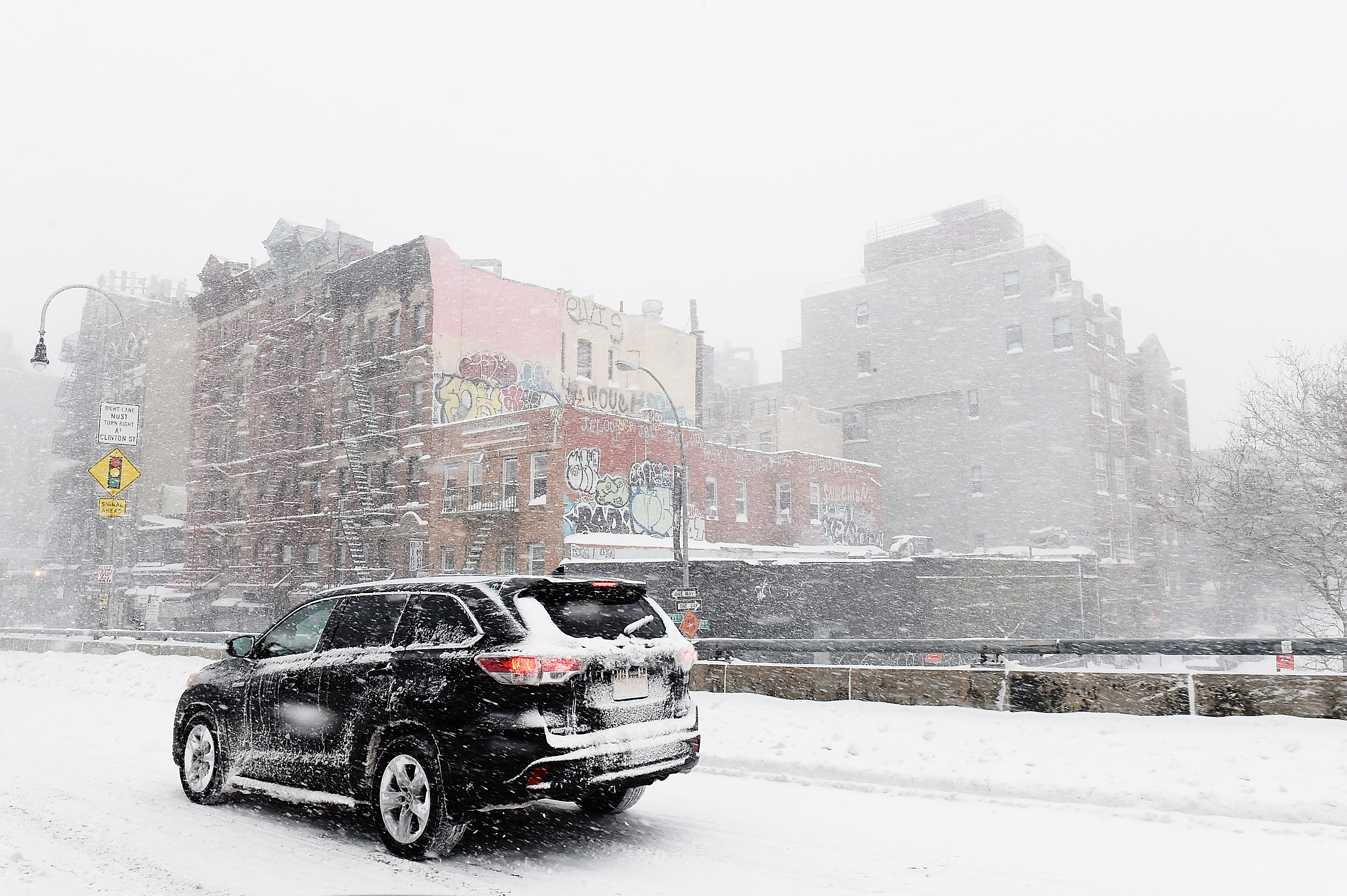 Massive Winter Storm Brings Snow And Heavy Winds Across Large Swath Of Eastern Seaboard
