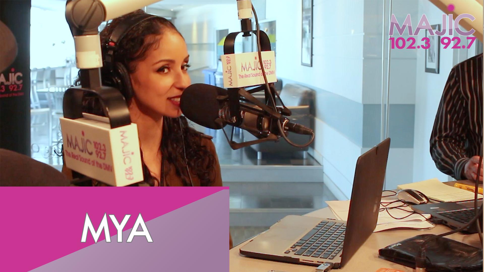 Mya On The Donnie Simpson Show