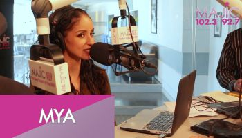 Mya On The Donnie Simpson Show