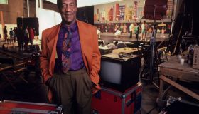 Bill Cosby On The Set of 'The Cosby Show'