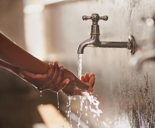 Keeping hands clean