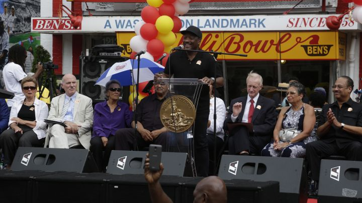 Radio One D.C. At The Ben's Chili Bowl 60th Anniversary Block Party