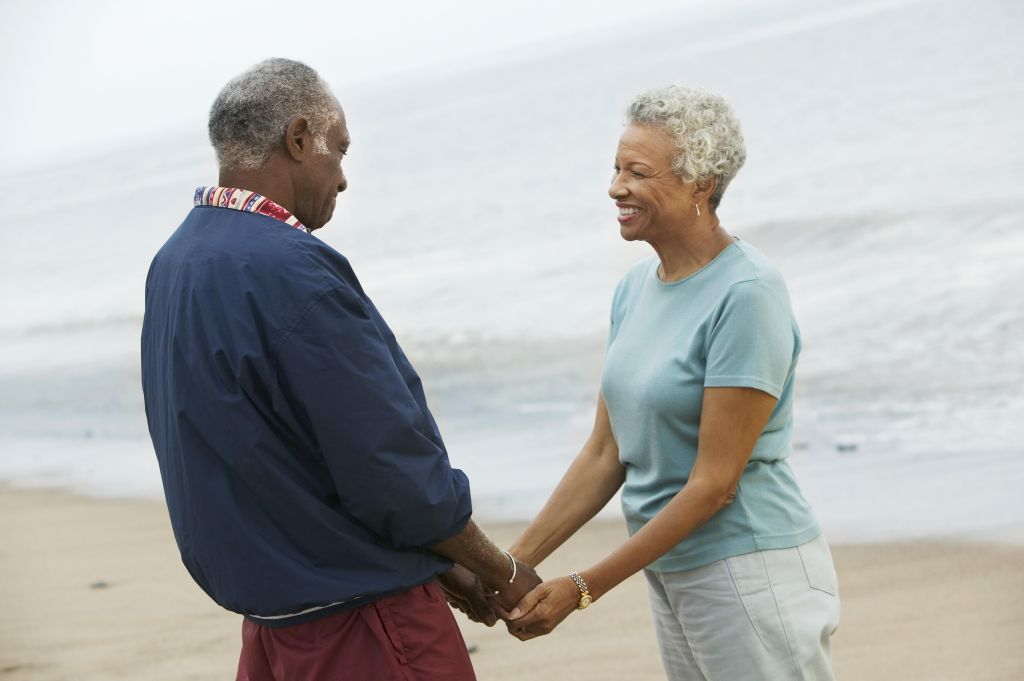 Couple in Love and at Beach