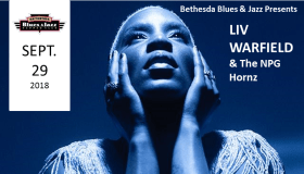Liv Warfield and the NPG Hornz at Bethesda Blues