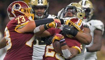 NFL: Washington Redskins vs New Orleans Saints