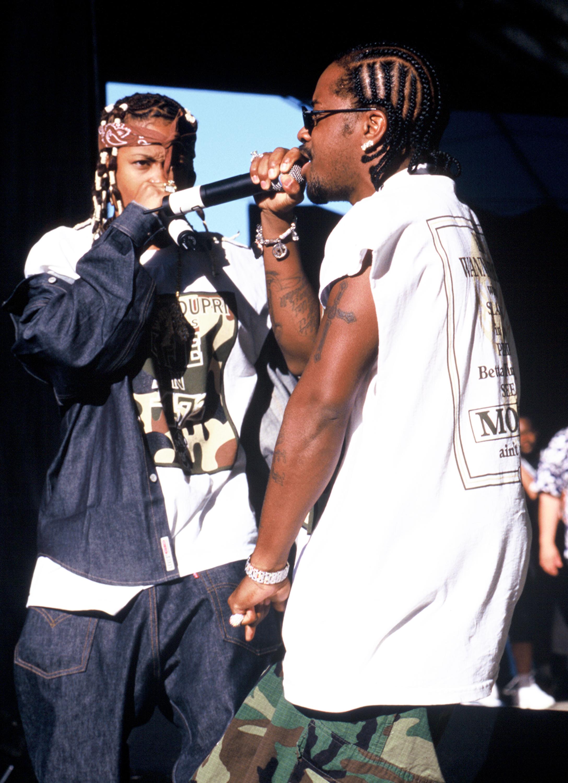 Dabrat at KMEL All Star Jam 1998
