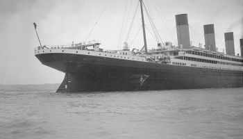 Hole Torn In The Hull Of Rms Olympic After The Collision With Hms Hawke In The Solent 19