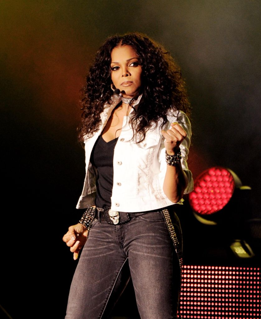 Janet Jackson Performs At The Greek Theatre